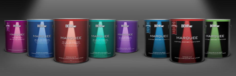 Exclusive Behr Marquee Interior Exterior One Coat Color Collection Guarantee