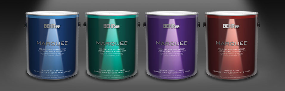 Behr Marquee Interior One Coat Colour Collection Guarantee Details
