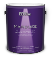 Marquee one coat interior paint collection behr - Behr marquee exterior paint reviews ...