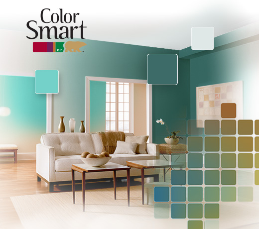 ColorSmart by BEHR® & Choose the Best Paint Colors for Your Home at the Behr Color Studio ...