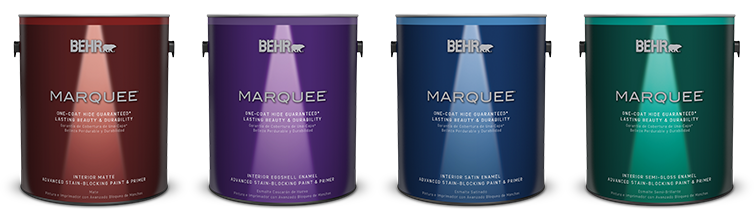 BEHR MARQUEE Interior Paints