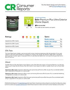 behr paint consumer reports behr. Black Bedroom Furniture Sets. Home Design Ideas