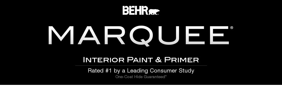 Behr marquee interior one coat collection guarantee behr for Behr pro paint