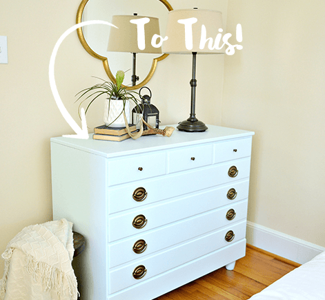 Upcycle A Goodwill Dresser From Drab To Fab In One Weekend