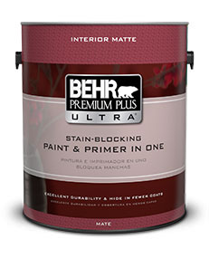 Behr Premium PLus Ultra Interior Matte