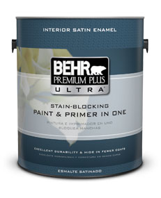 Genial Interior Satin Enamel Paint U0026 Primer | BEHR PREMIUM PLUS ULTRA® | Behr