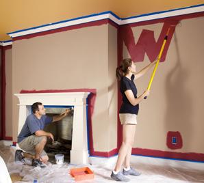 Peinturer un mur