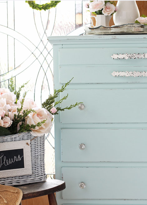Vintage Dresser Diy Coastal Cottage Style Behr