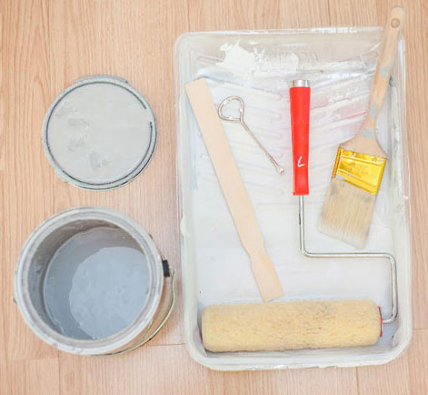 Equipment for painting home office