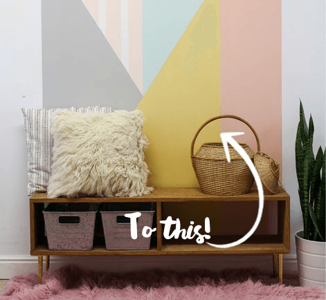 DIY Geometric Accent Wall Project | Behr