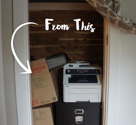Redesigning A Cedar Paneled Closet For Stylish Storage