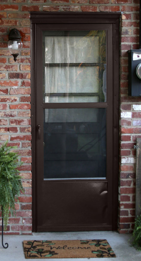 Updated Exterior Door Paint Revitalizes Rear Entry Behr