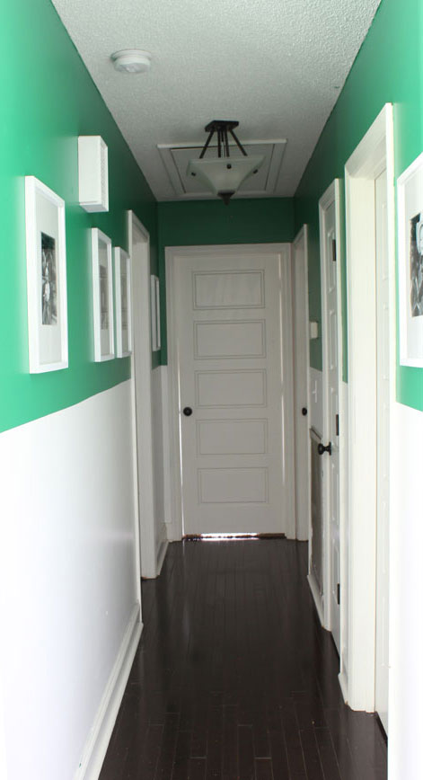 2 Tone Hallway Color Update Designer Story Project Behr