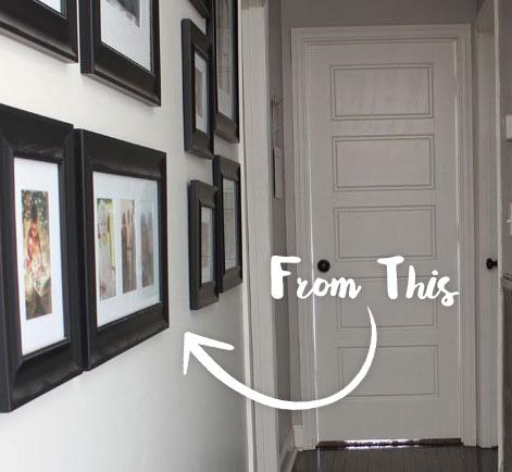 Hallway Color 2 tone hallway color update designer story project | behr