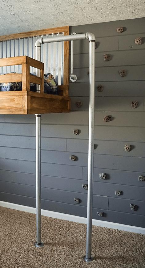 Bedroom Accent Wall Grey