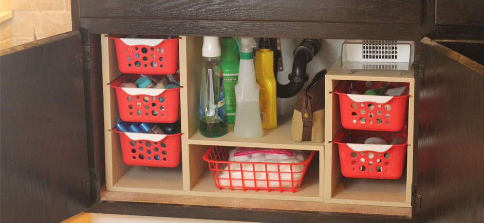 Undersink Shelves