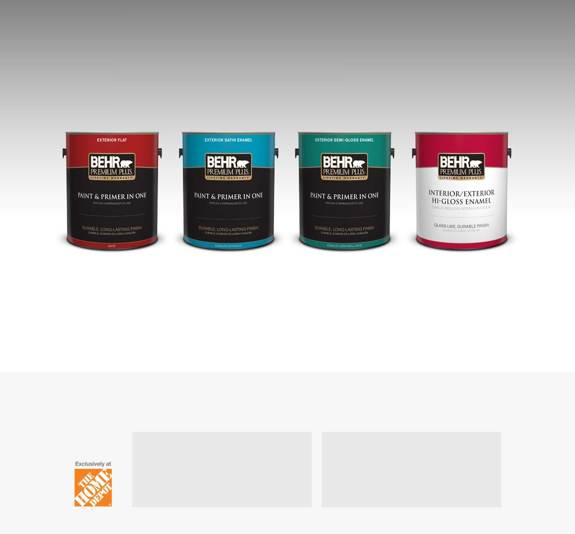 No voc paint buy glidden 5 gallon spred interior latex for Behr pro paint
