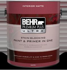 premium plus ultra interior paint primer behr. Black Bedroom Furniture Sets. Home Design Ideas