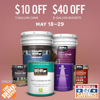 A good place to start when picking out paint favorite for Home depot memorial day paint rebate