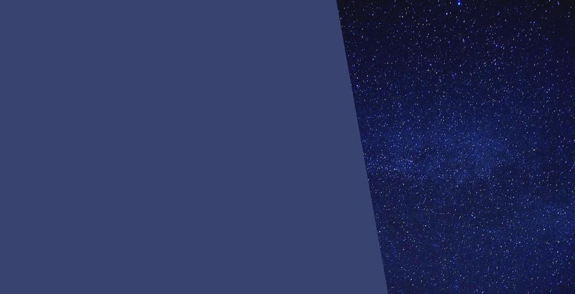Bleu constellation