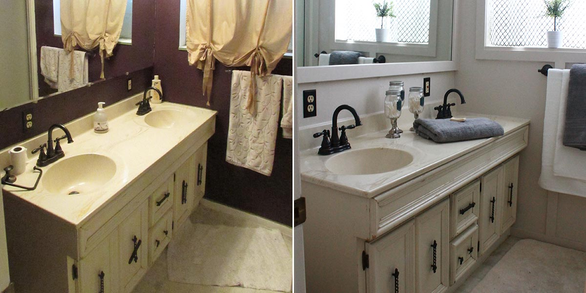 Before and After Bathroom image