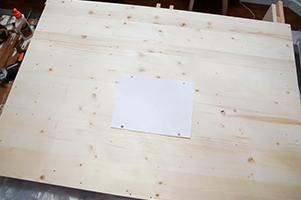 tabla de soporte para el televisor