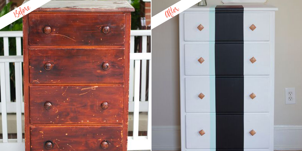 Furniture Hack Chest Refinished In Homemade Chalk Paint Behr