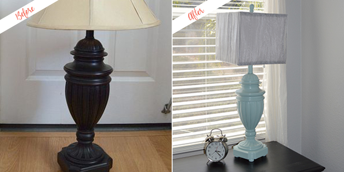 Lamp Update, before and after