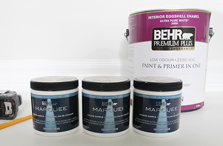 BEHR products used