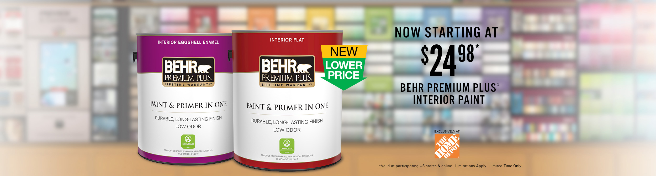 Exterior Paint | Interior Paint | Wood Stains | Behr