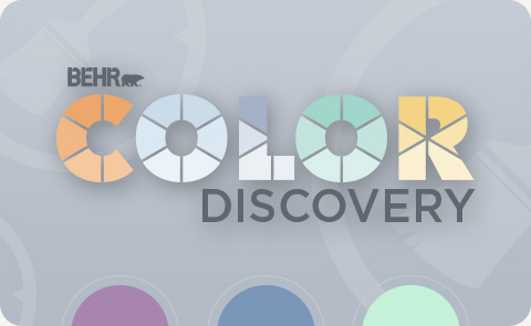 Behr Color Discovery logo