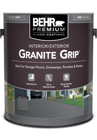 1 gal can of Behr Premium Granite Grip