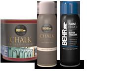 Decorative paint products