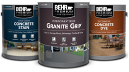 Floor coatings products