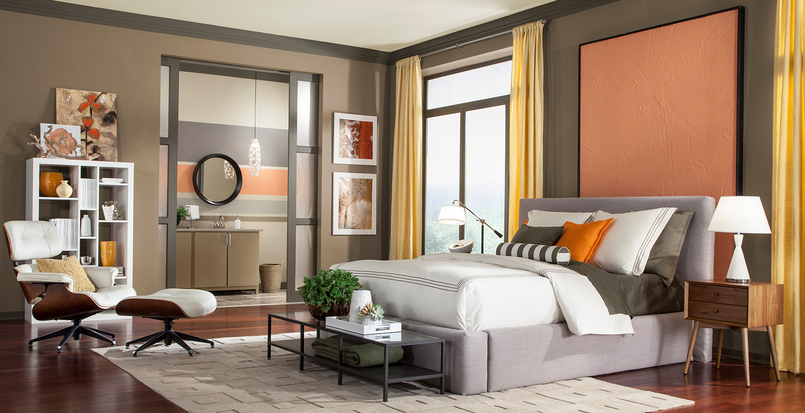 Modern Bedroom Ideas And Inspirational Paint Colors Behr