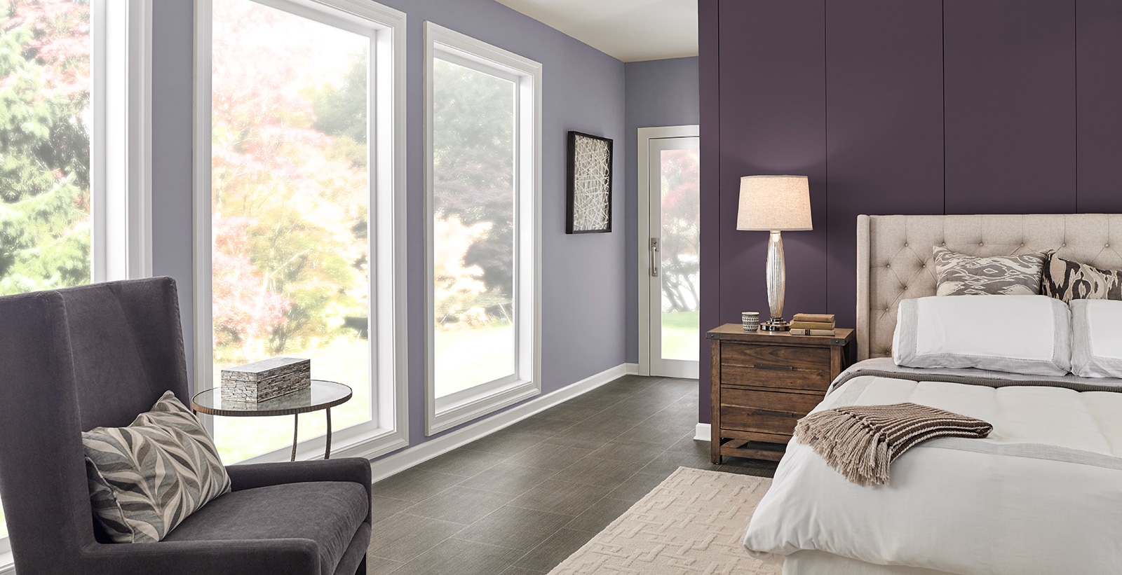 Formal Bedroom Relaxed And Calming Gallery Behr