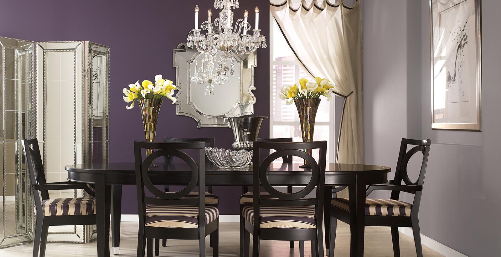 Purple Glam Dining Room | Purple Dining Room Gallery | Behr