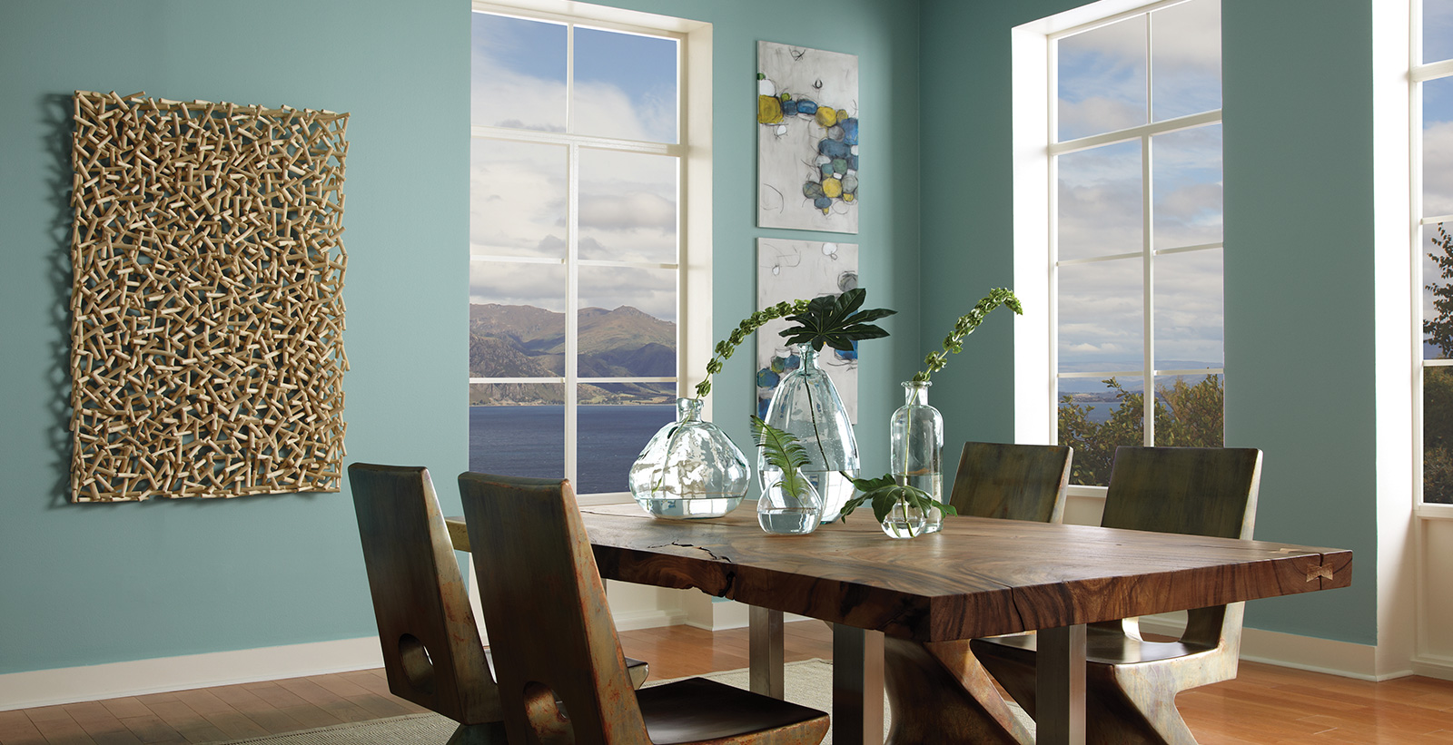 Relaxed Calming Dining Room Ideas And Inspirational Paint