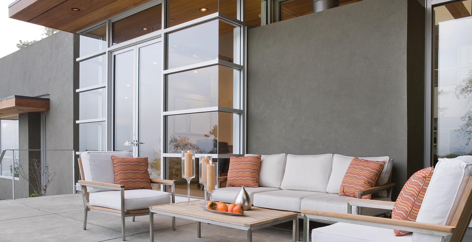 Modern Nook Exterior Patio House Exterior Gallery Behr