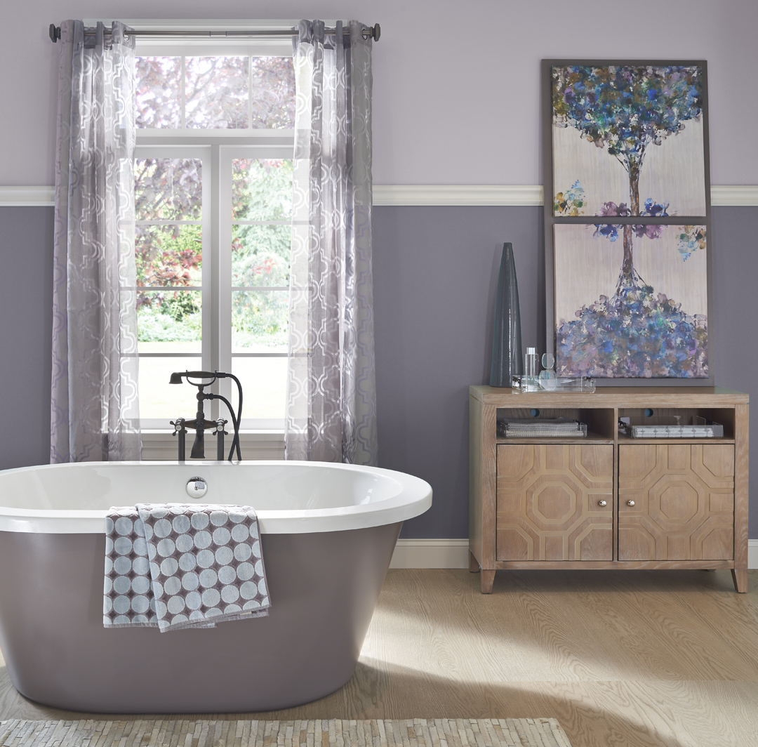 Inviting Style Bathroom Ideas And Inspirational Paint Colors Behr