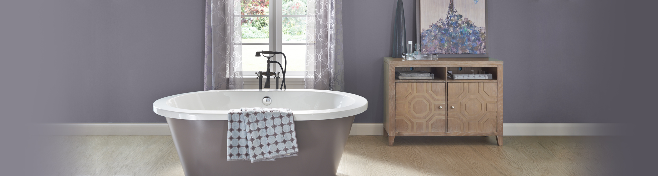 Gray Bathroom Ideas and Inspiration | Behr
