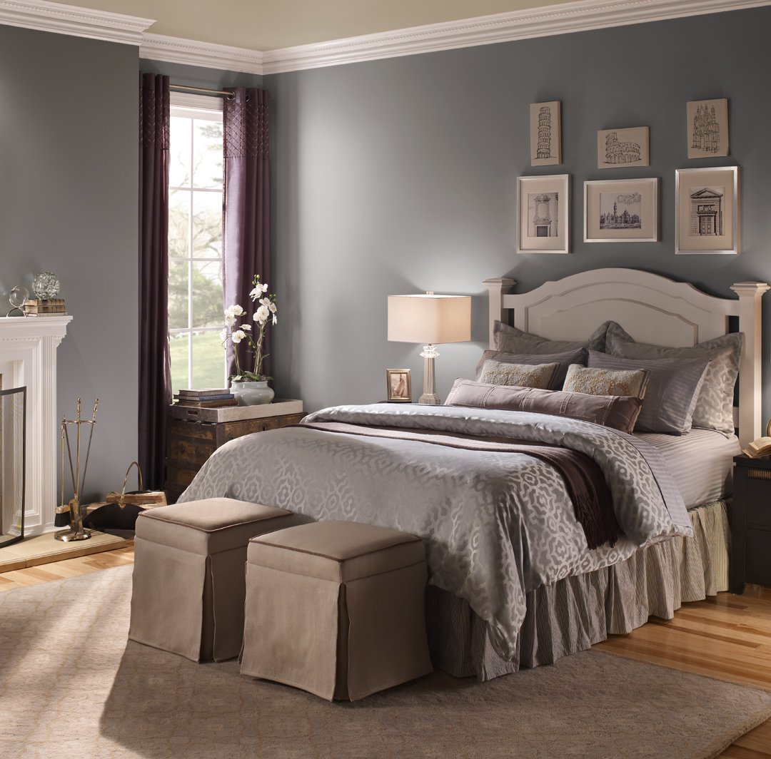 Wall Colour Inspiration: Relaxing Bedroom Colors Paint