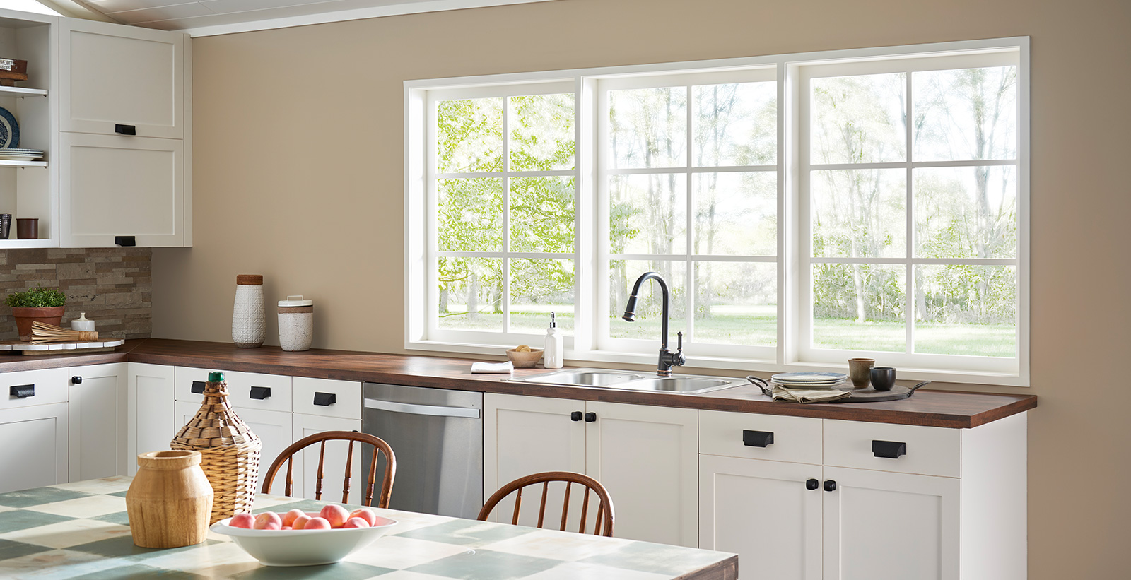Brown Kitchen Ideas And Inspirational Paint Colors Behr