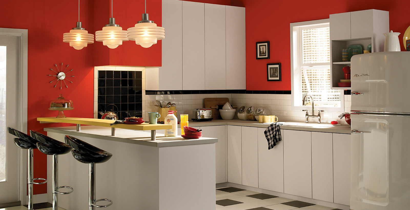 Red Kitchen Ideas And Inspirational Paint Colors Behr