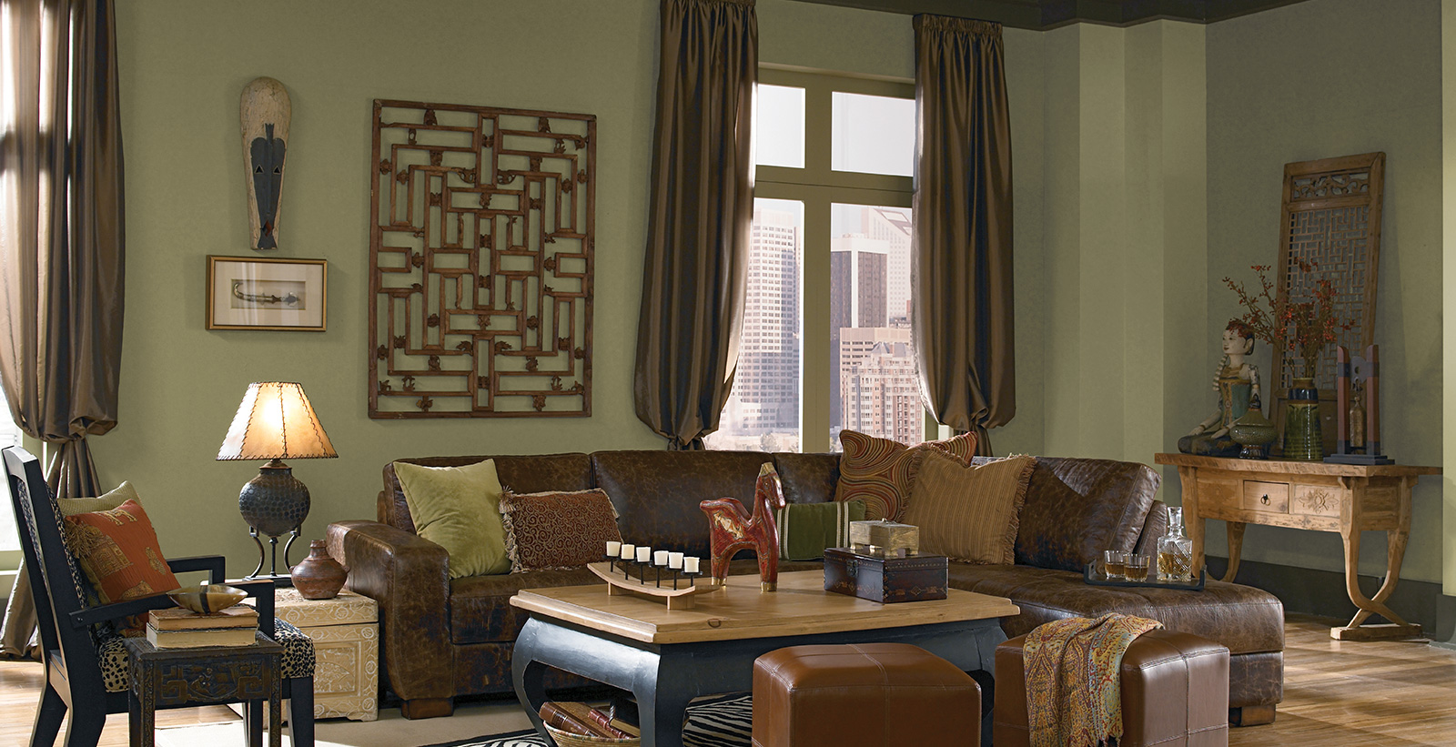 Eclectic Living Room Ideas And Inspirational Paint Colors Behr