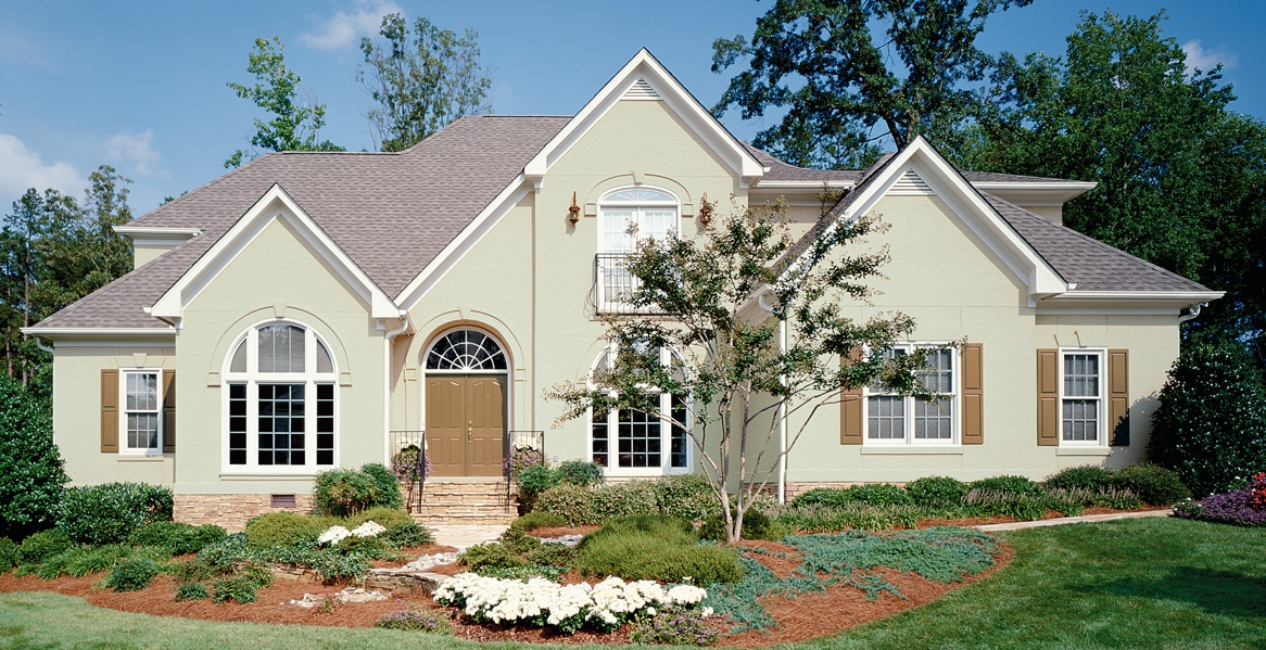 Ranch style home paint inspiration gallery behr - Behr exterior paint ideas property ...