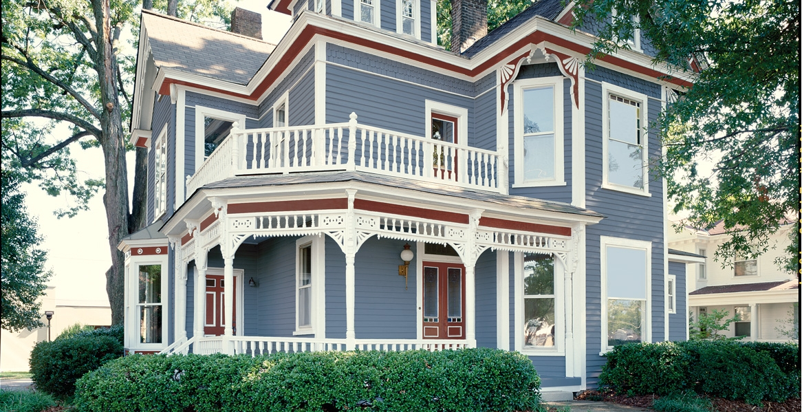 Victorian and tudor style paint color gallery behr - Exterior paint that lasts forever ...