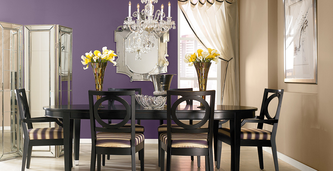 Purple Painted Room Inspiration & Project Gallery | Behr