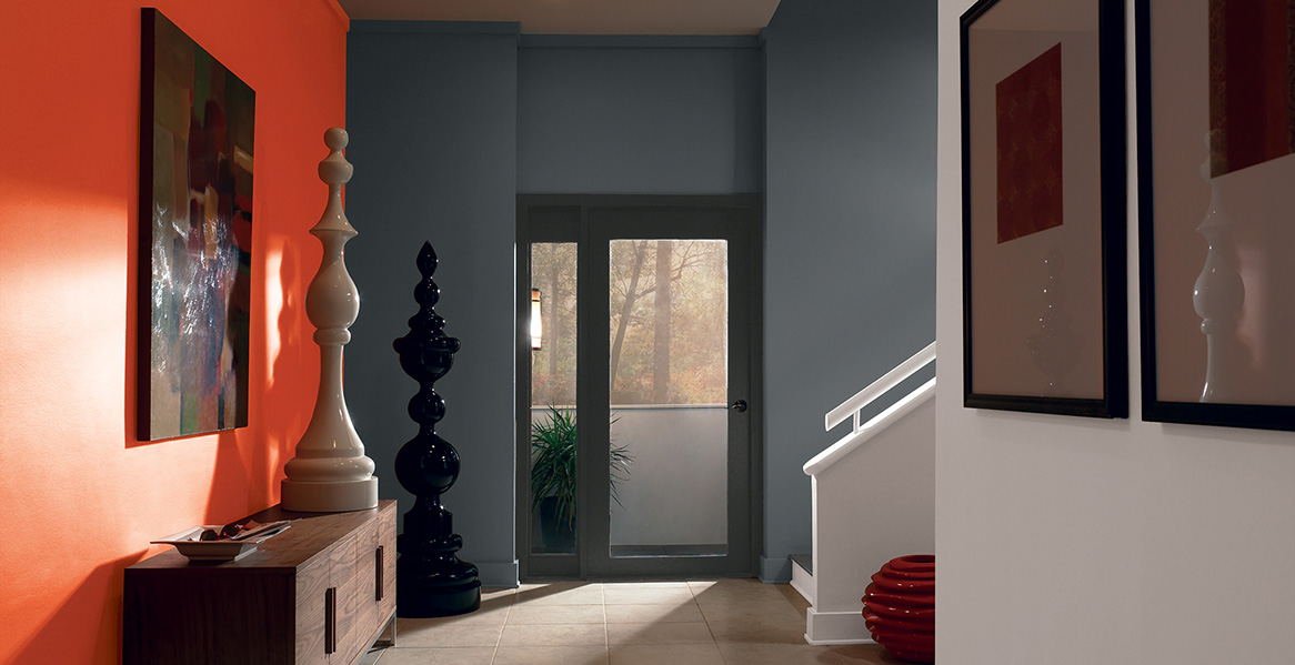 Wall Colour Inspiration: Entryway & Foyer Color Inspiration And Project Gallery