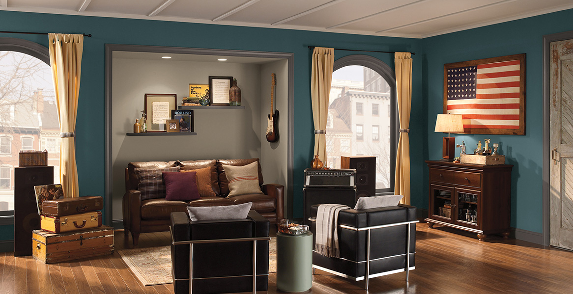 Living Room Paint Color Image Gallery | Behr